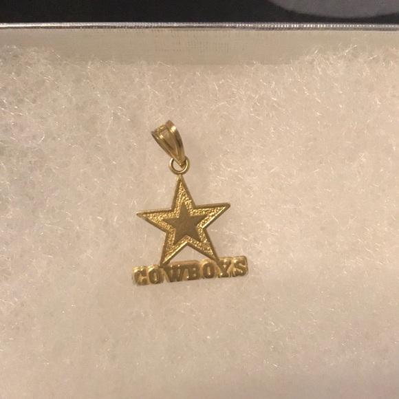 Jewelry 14k Gold Cowboys Charm Poshmark